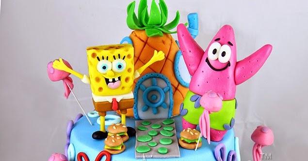 Spongebob Cake Design