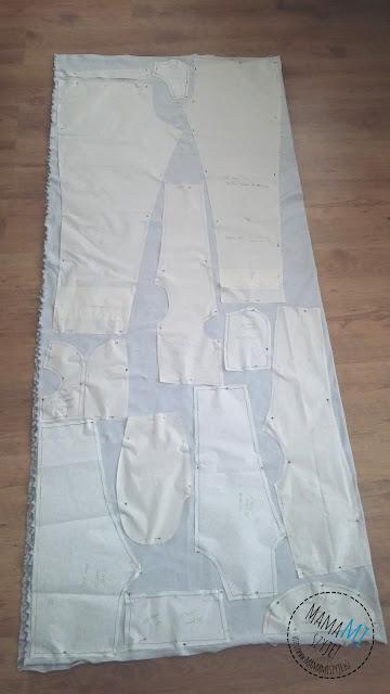 optymalizacja układu wykroju na tkaninie, jak napakować jak najwięcej na materiał, jak najlepiej wycinać z dresu, jak najwięcej zmieścić na materiale