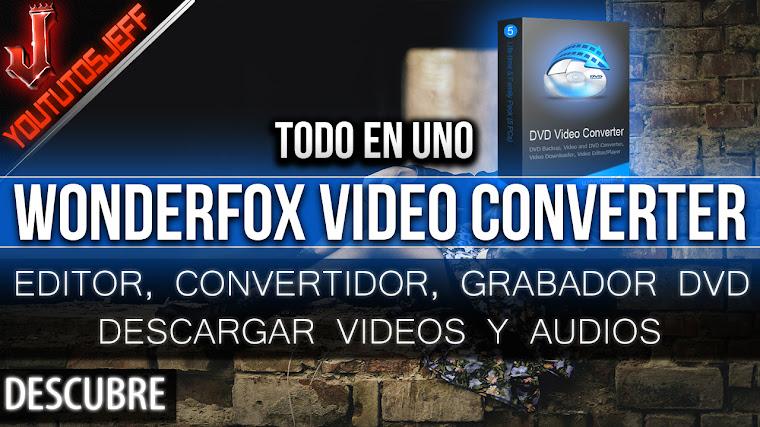 Wonderfox DVD Video Converter | Primeras impresiones, caracteristicas, todo en uno