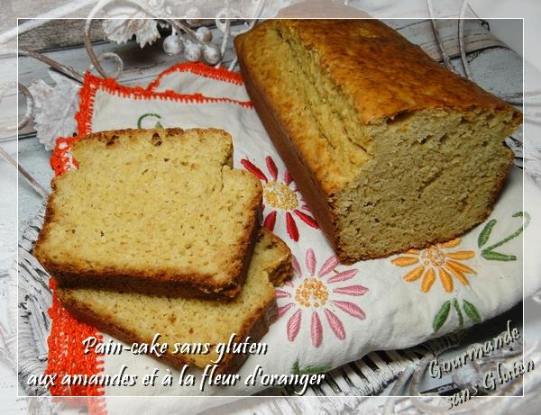 gourmande sans gluten pain cake sans gluten aux amandes. Black Bedroom Furniture Sets. Home Design Ideas