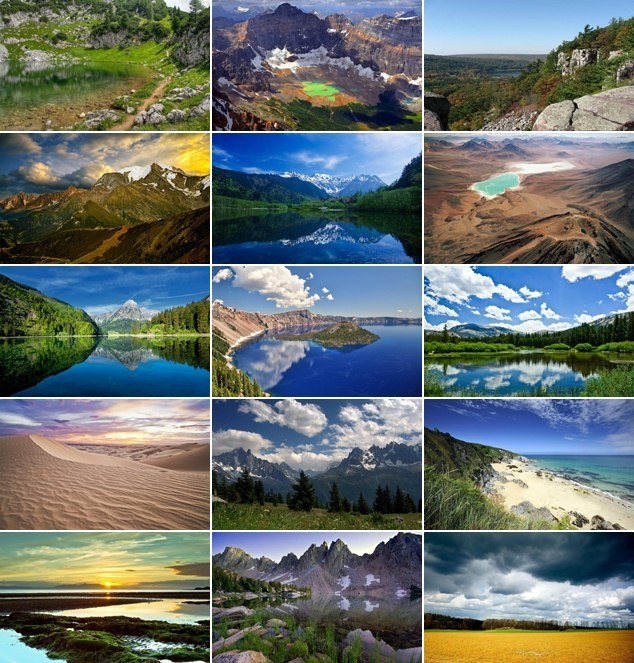Photo & Magazin: Excellent Landscapes HD Wallpapers Pack 1