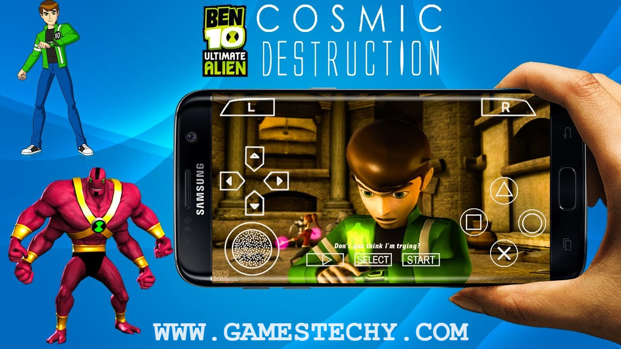 PSP] Ben 10 Ultimate Alien Cosmic Destruction Highly