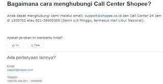 √ Cara Menghubungi Call Center Shopee Belanja Online 8