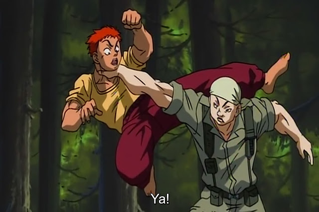 Baki The Grappler Episode 11 Subtitle Indonesia
