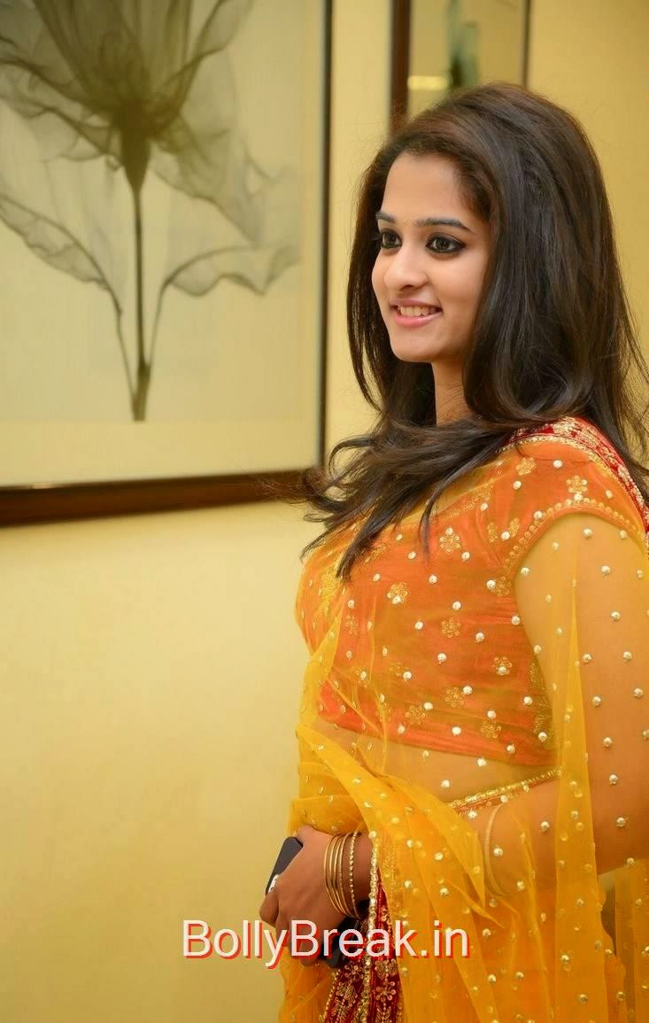 Nanditha Pictures, Actress Nanditha Yellow Saree Navel pics in HD from Ram Leela Movie