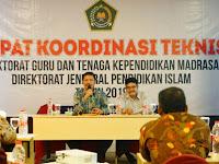 Ditjen Pendis Persiapkan Fasilitator Nasional Songsong Madrasah Ramah Anak