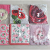 Party Paper Napkins Motif Bunga / Kertas Tissue Servietten Motif Bunga