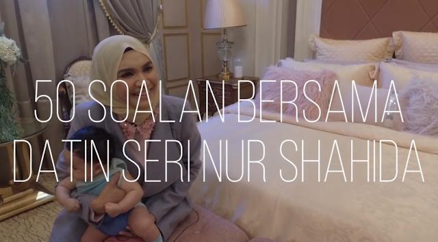 50 Soalan Bersama Datin Nur Shahida, Jawapan Mengenai Dato Paling Kelakar
