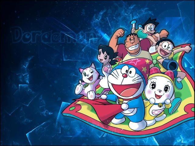 Doraemon Flying Carpet HD Wallpapers