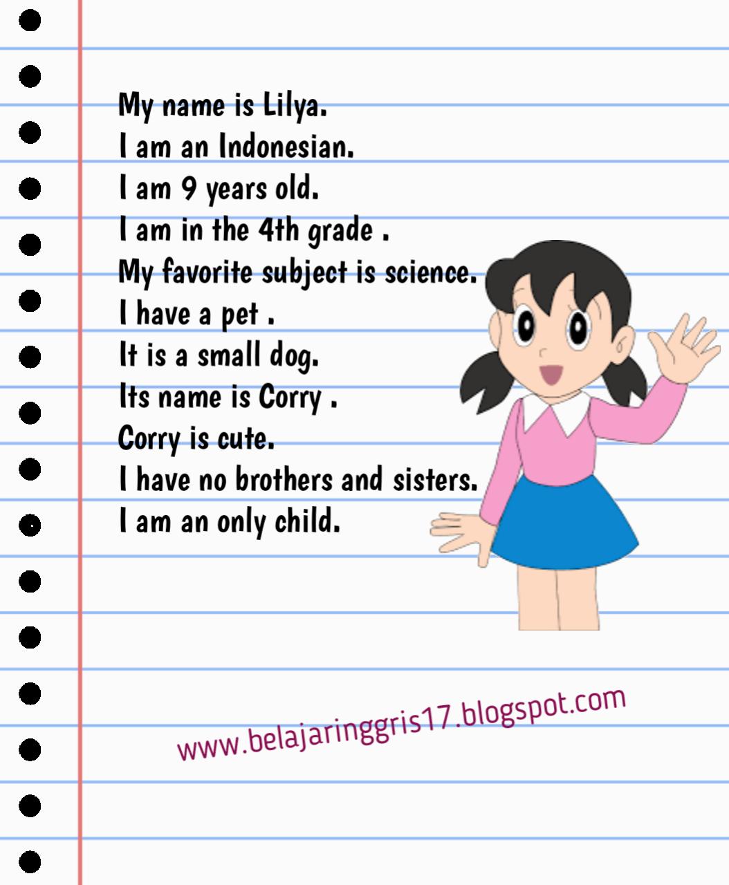 Perkenalan Diri Part 1 Bahasa Inggris Belajar Inggris
