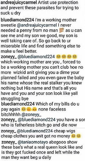 Oh no! Someone ripped Wizkid's second baby mama Binta Diallo apart