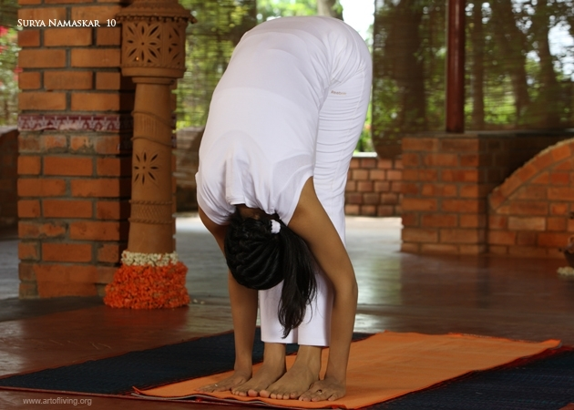 How To Do Hasta Padasana - Hand to foot pose