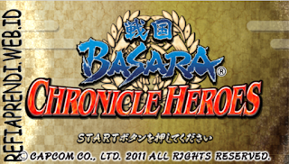 Sengoku Basara – Chronicle Heroes ISO PPSSPP For Android & PC