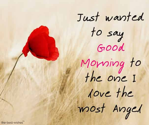 good morning messages to your angel