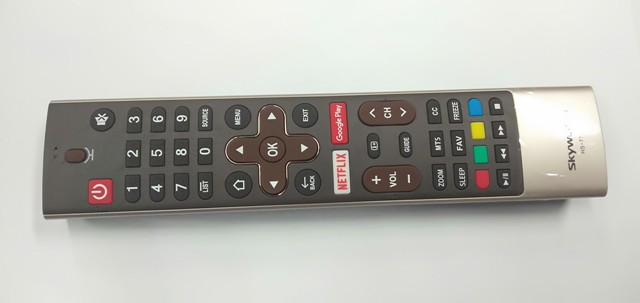 Skyworth 50G2, 50G2A, 55G2 and 55G2A Bluetooth / Voice Remote Control