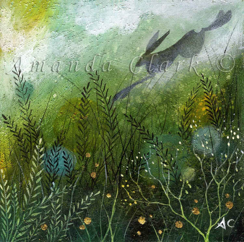 Emerald Fields By Amanda Clark