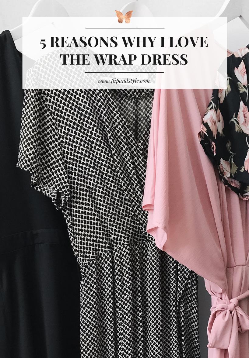 wrap dress style blog