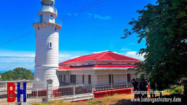 The Point Malabrigo Lighthouse in Lobo, Batangas.