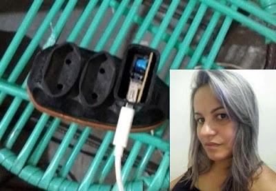 Em PE, Mulher morre ao sofrer choque elétrico após colocar celular para carregar em Santa Cruz do Capibaribe, PE