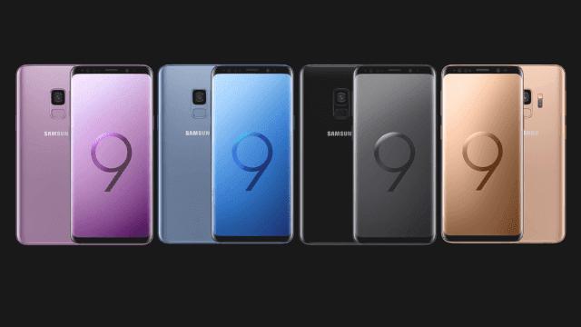Layar dan Desain HP Samsung S9