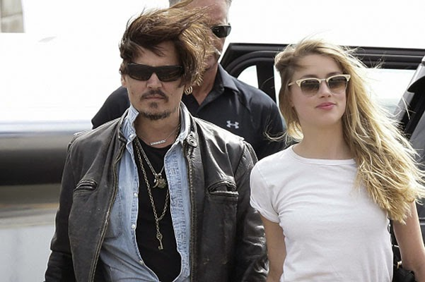 No divorce: Johnny Depp and Amber Heard appeared together in public