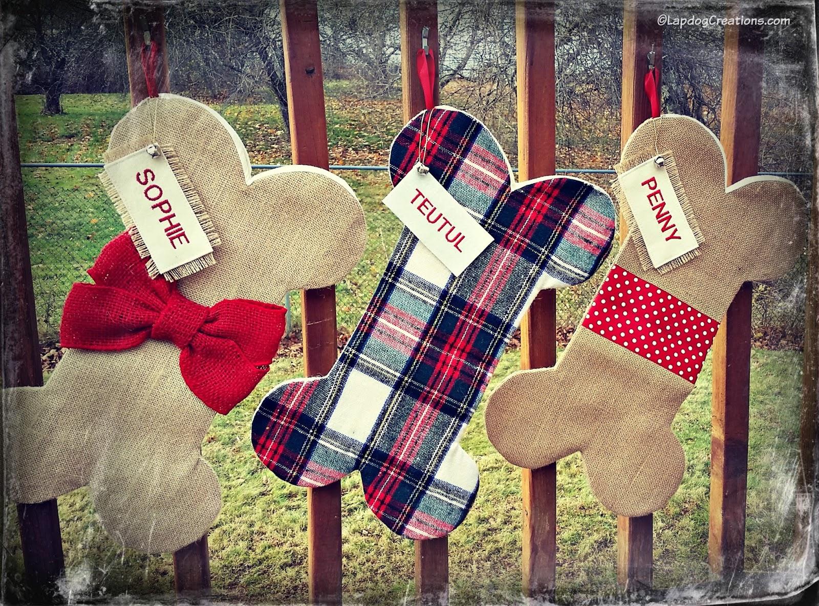 Dog Bone Christmas Stocking.Lapdog Creations Happy Claude Custom Pet Stockings Coupon