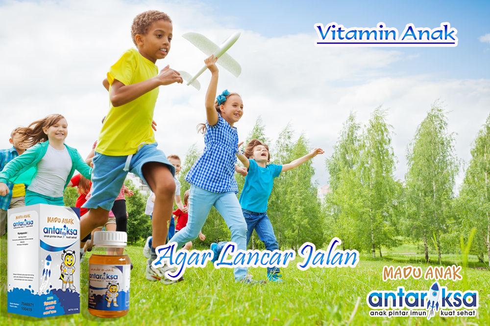 Vitamin Anak Supaya Lancar Berjalan