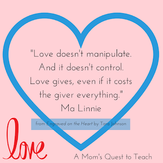Love Quote from Engraved from the Heart