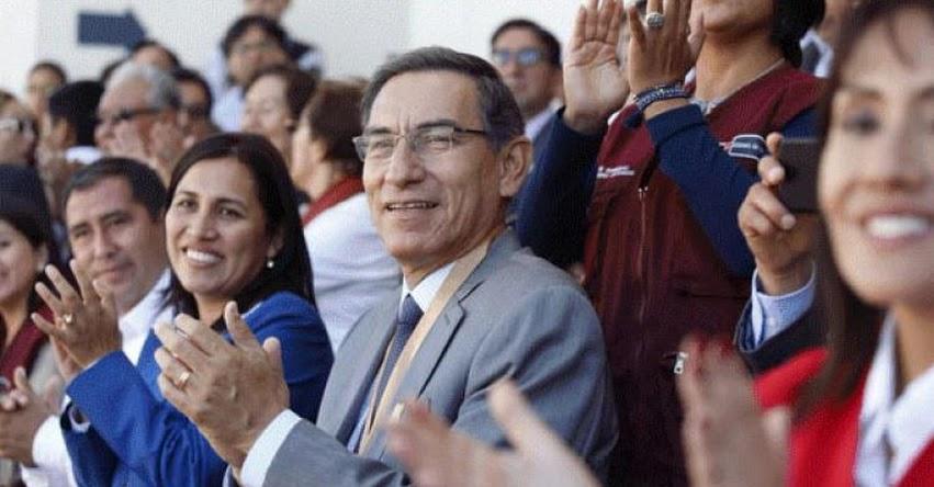 Presidente Vizcarra apoya a Ministra de Educación, quien será interpelada en el Congreso