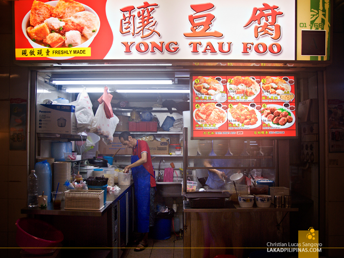 Singapore Food Trip Hawker Stall