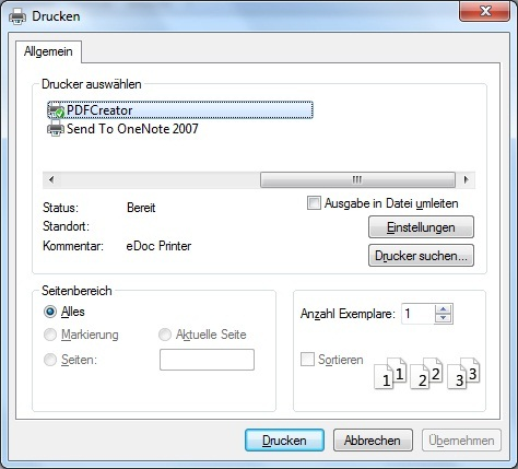 Open Source: How to merge  pdf files using PDFCreator