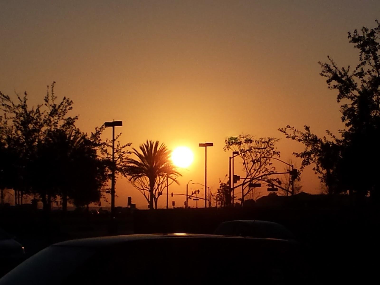 Pôr do sol em Ventura