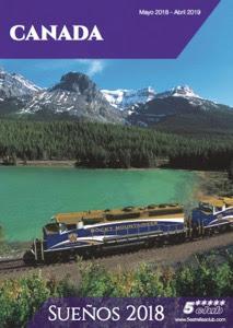 Catálogo con viajes a Canadá 2018