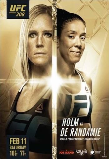 UFC 208 PPV Holm vs De Randamie