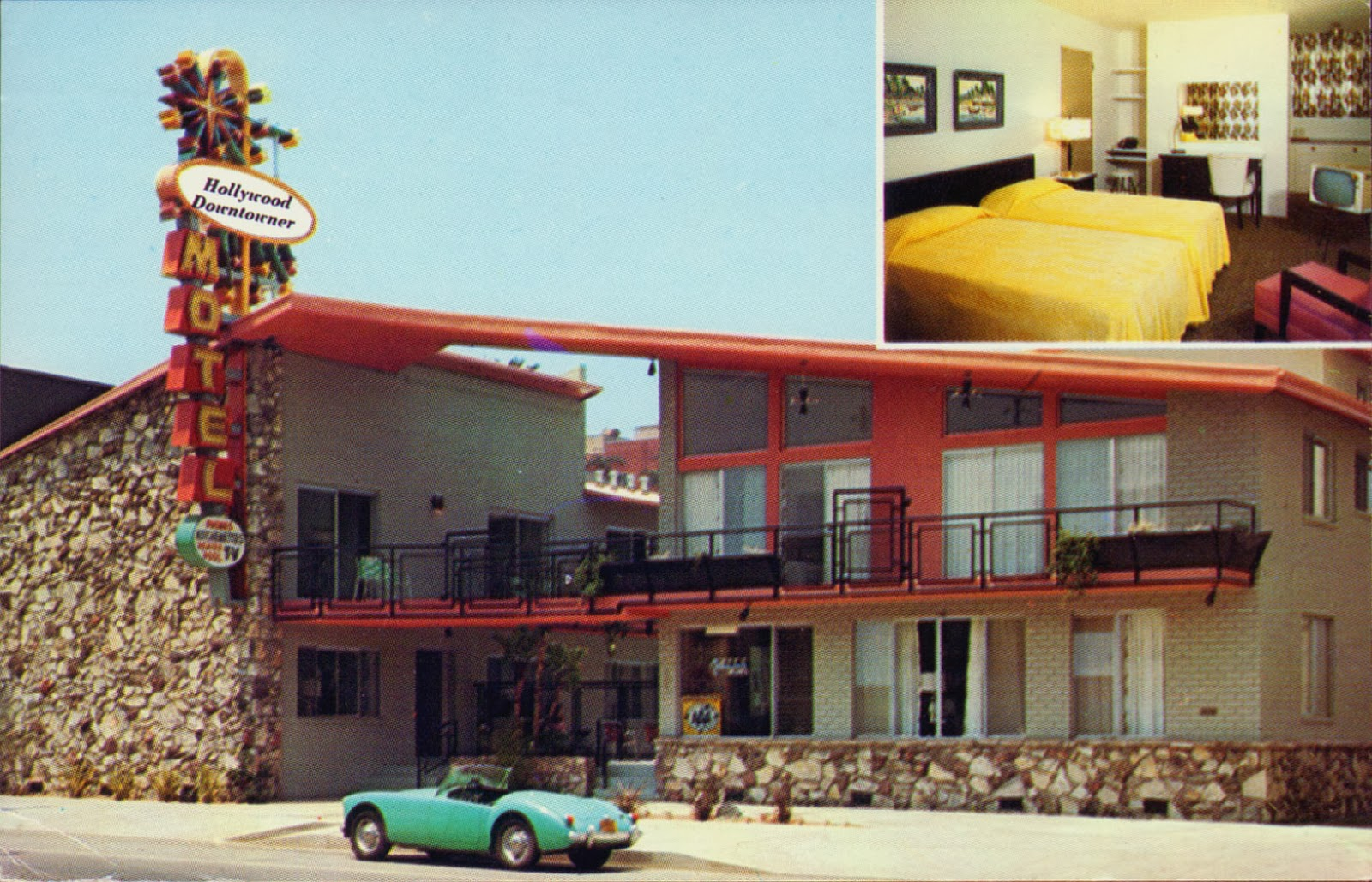 Hollywood Motel Vintage Hollywood California Neat Stuff Blogs