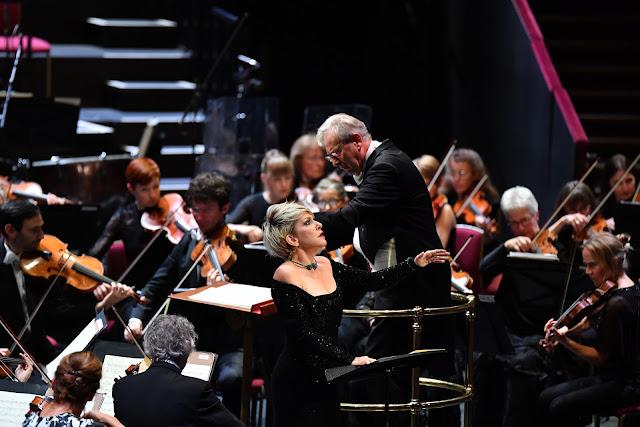 BBC Proms - Joyce DiDonato John Eliot Gardiner, Orchestre Révolutionnaire et Romantique (Photo BBC/Chris Christodoulou)
