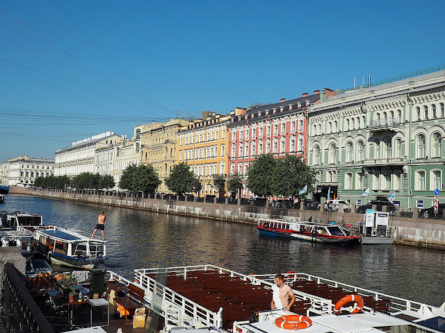 Санкт-Петербург - река Мойка (St. Petersburg - the river Moika)