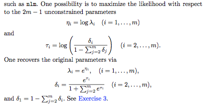 Fitting a mixture of independent Poisson distributions