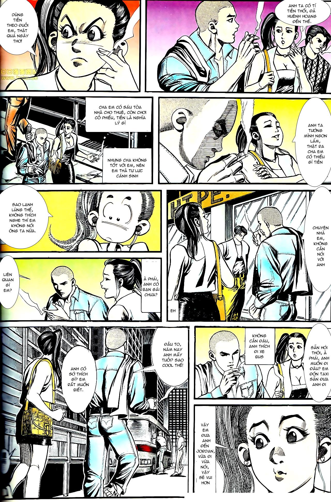 Người Trong Giang Hồ chapter 154: nam đẹp trai trang 25