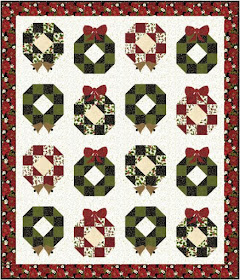 Quilt Inspiration Free Pattern Day Christmas Part 2 Gifts Ornaments And Wreaths