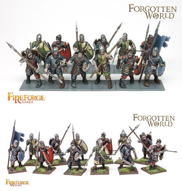 Forgotten World: guerrieri Zombie