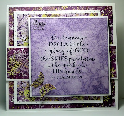 Our Daily Bread Designs Stamp Set: God Verses 2, Paper Collection: Whimsical Wildflowers, Custom Dies: Fancy Circles