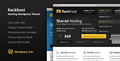 ThemeForest - Rackhost Hosting WordPress Theme v1.3