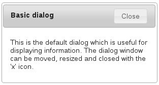 Boduch's Blog: jQuery UI: Dialog Close Button Text