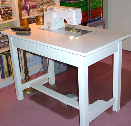 Sewing Machine Cabinets Tables Plans PDF Woodworking