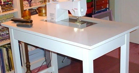 Busy Bee No 16 Make your own Sewing Machine Cabinet Table