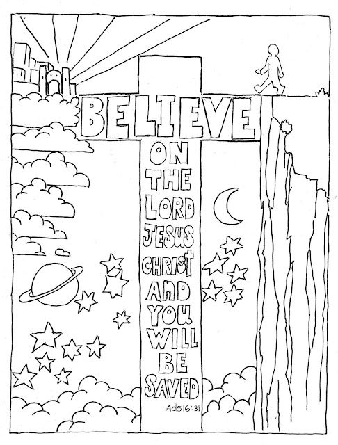 acts coloring pages - photo#9