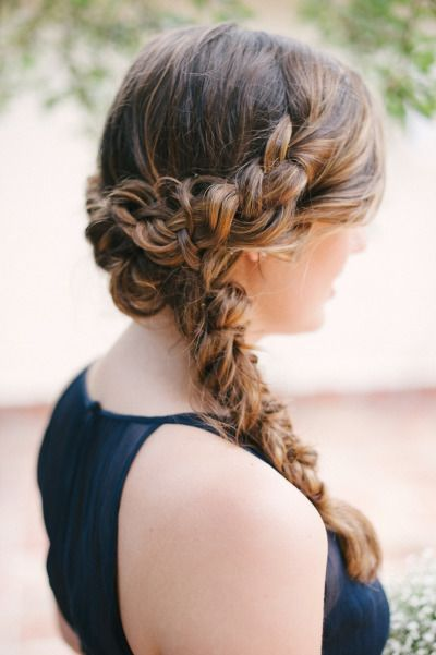 La moda en tu cabello peinados recogidos con trenzas 2017 for Trenza boda