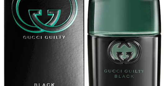 **New** Gucci Guilty Black Pour Homme Eau De Toilette Spray ~ Full Size Retail Packaging