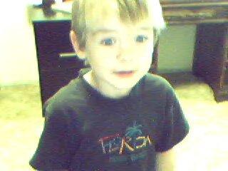 photo of my eldest when he was little